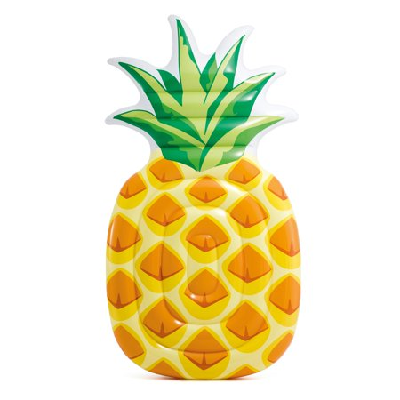 Giant Inflatable One Person Pineapple Swimming Pool Float Mat
