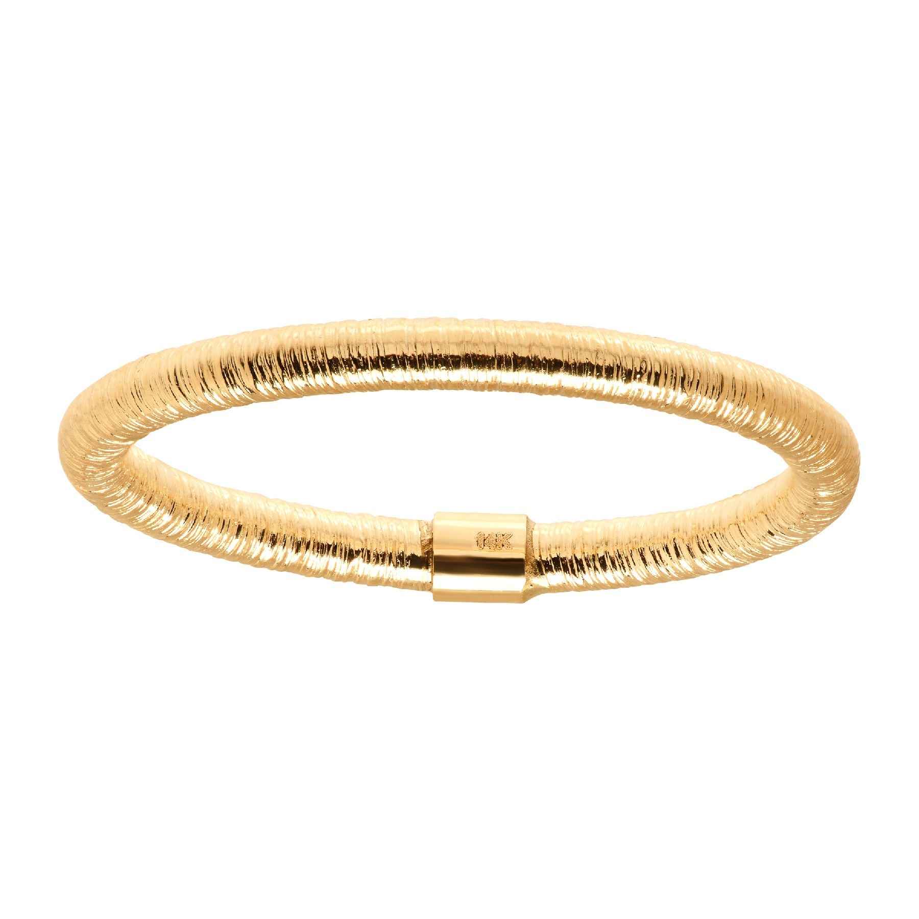 ETERNITY GOLD TEXTURED BAND RING