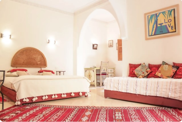 Marrakech Airbnb house