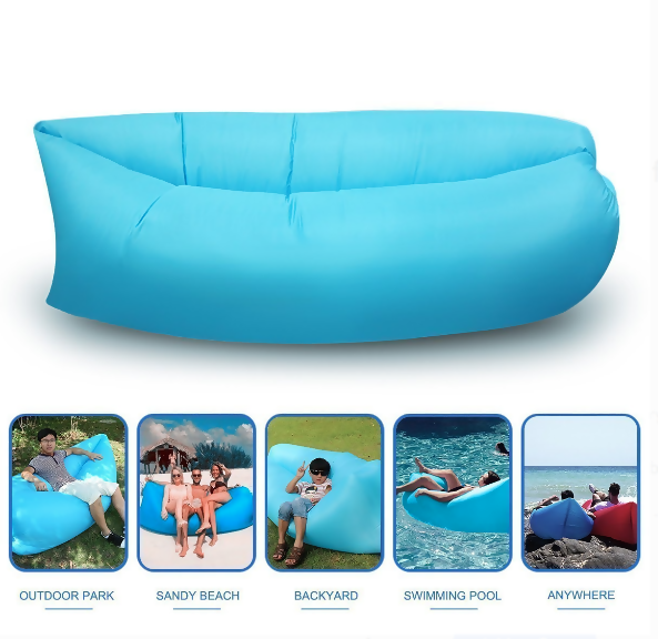 Air Comfort Lounging Inflatable Indoor/Outdoor Sofa Chair