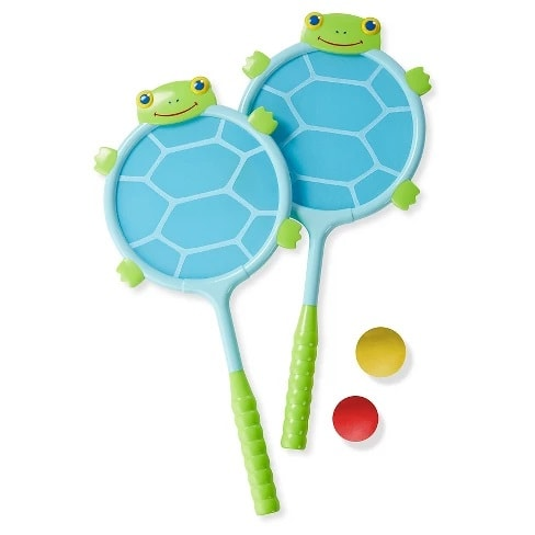 Melissa & Doug® Sunny Patch Dilly Dally Racquet and Ball Game Set