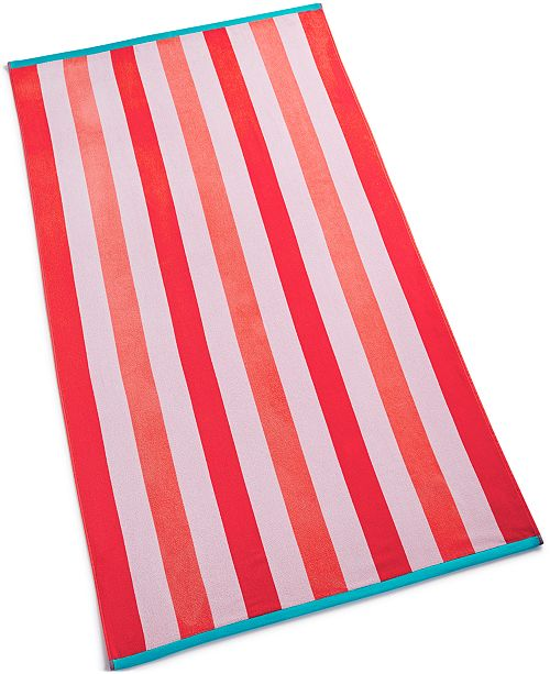 Martha Stewart Stripe Beach Towel