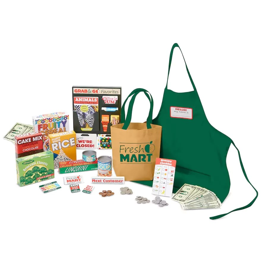 Melissa & Doug Grocery Companion Set