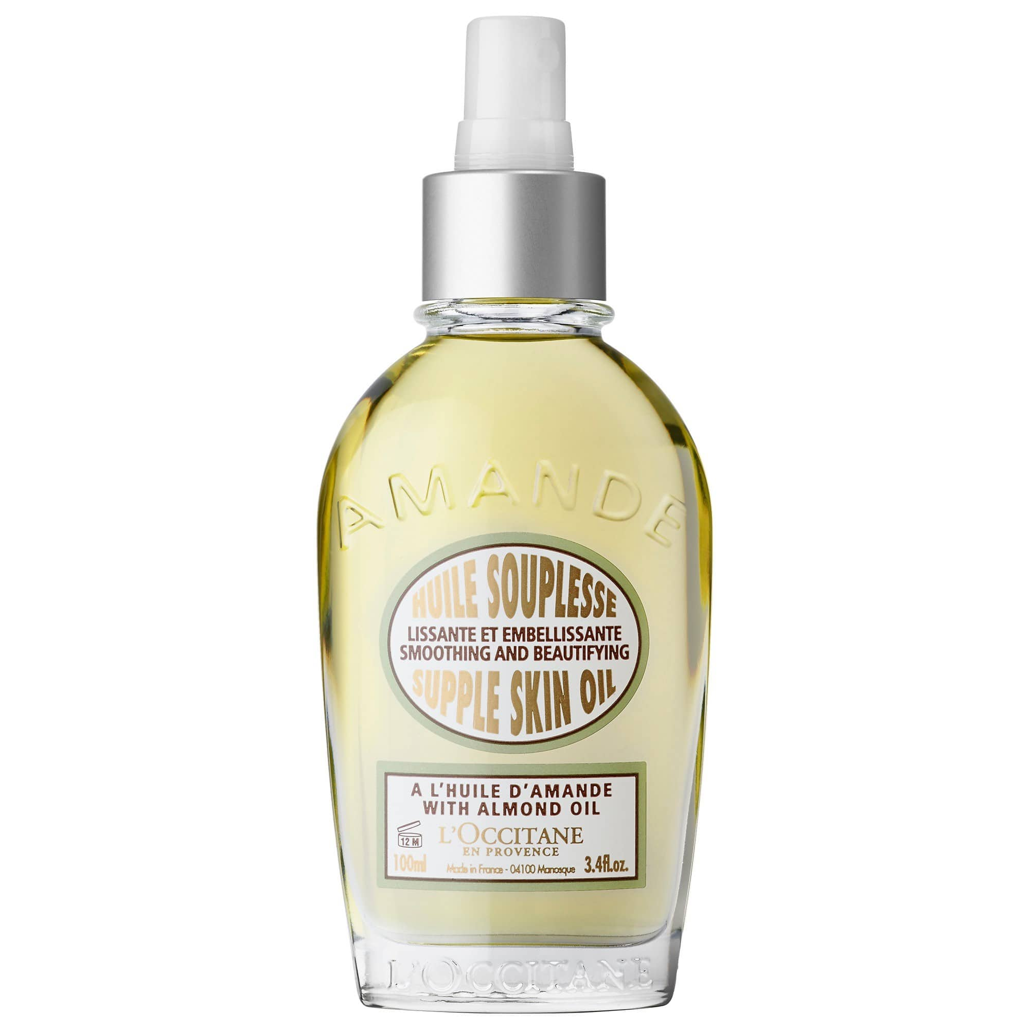 L'Occitane's Almond Supple Skin Body Oil