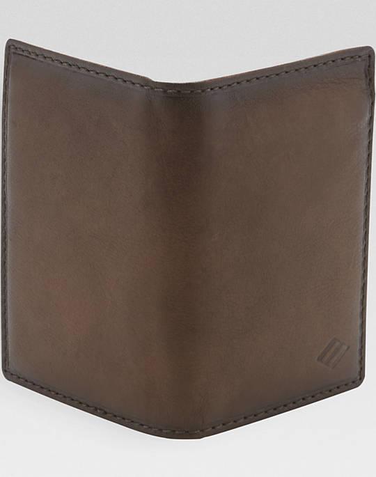 Joseph Abboud Cognac L-Fold Wallet